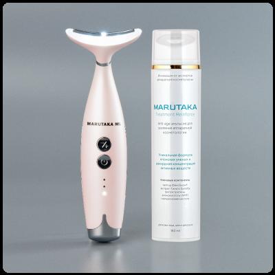 Аппарат для омоложения лица и шеи Multi Lift и anti-age эмульсия